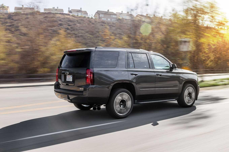 Chevrolet tahoe и suburban 2021— два внедорожника с минимум отличий
