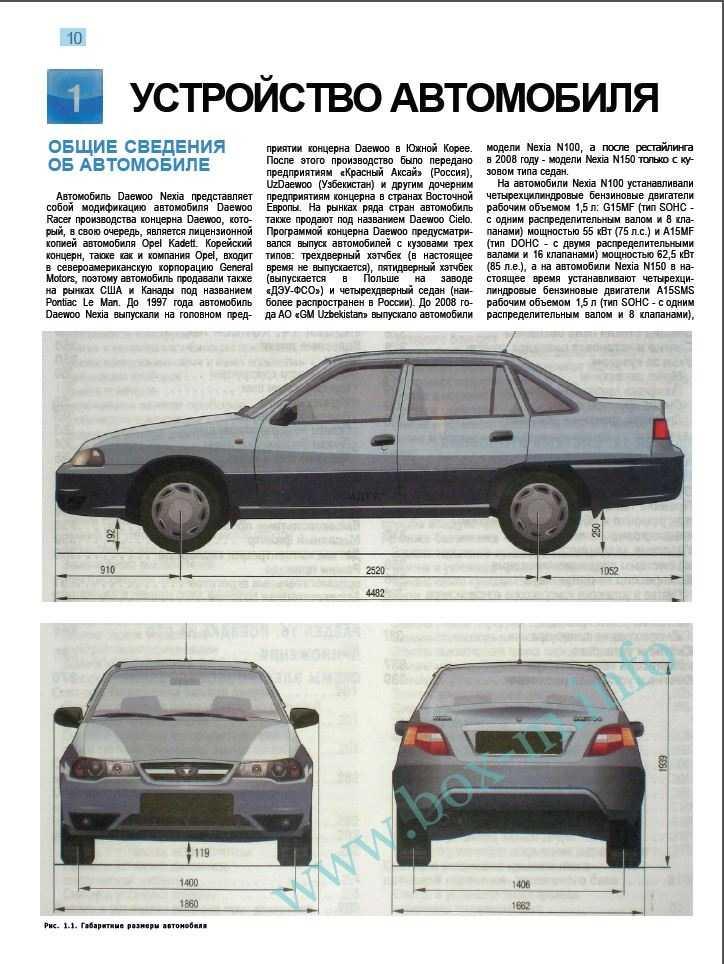 Книги по ремонту, обслуживанию и эксплуатации автомобилей daewoo