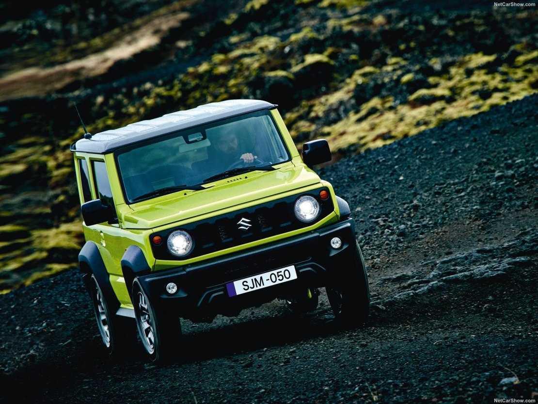 Компания Suzuki уточнила когда Jimny IV генерации появится в российских автосалонах
