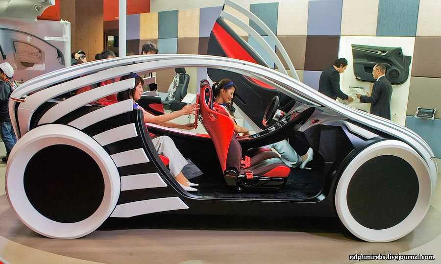 На автошоу в Токио Lexus презентовал неожиданный концепт который может показывать в каком направлении будет развиваться премиальный бренд в наступные 10 лет