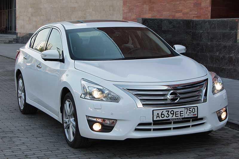 Nissan teana 2.5 cvt luxury (09.2011 - 02.2014) - технические характеристики