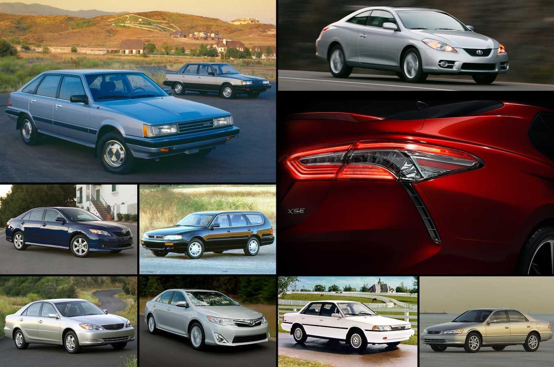Блог о toyotaтойота камри: модельный ряд, кузова по годам