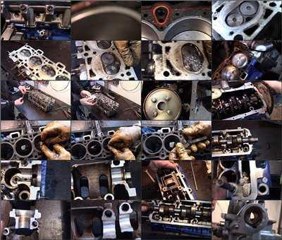 Порядок выполнения капитального ремонта двигателя