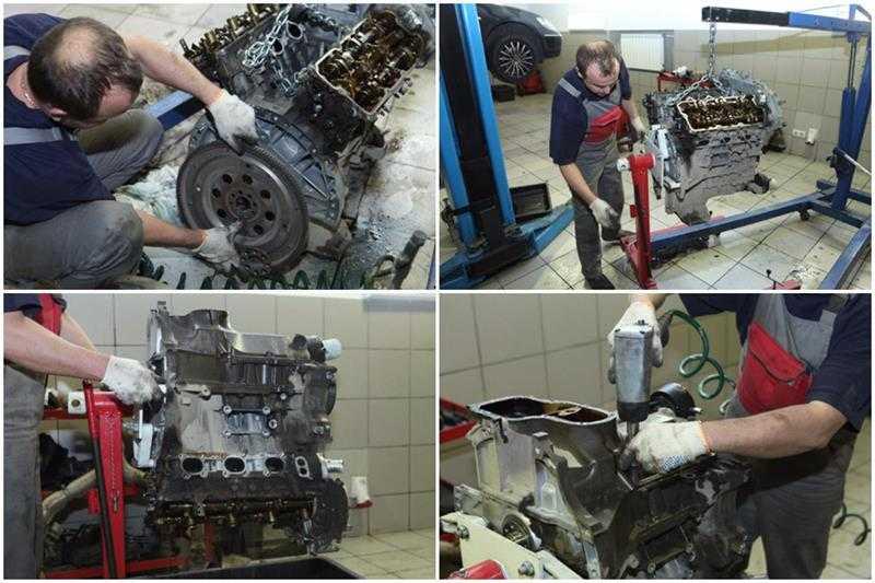 Объём работ при капитальном ремонте двигателя и его особенности