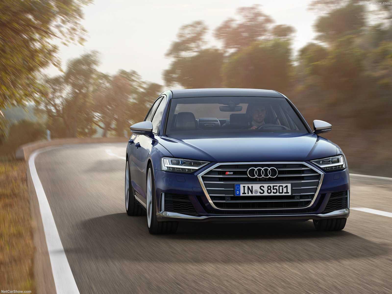 Немецкий Audi представил новое поколение заряженной версии своего флагманского седана восьмой модели S8
