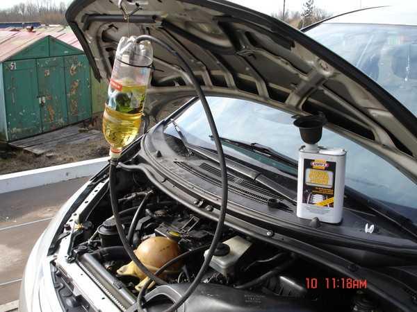 Очиститель форсунок для бензиновых двигателей в бак: какой лучше, отзывы