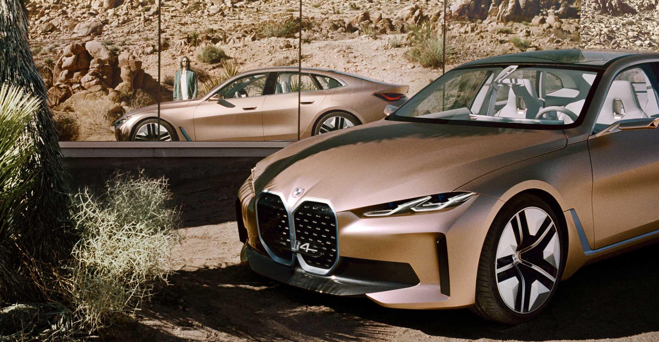 Немецкий BMW представил новое поколение своего электрического кроссовера IX который появится в продаже летом 2021 года