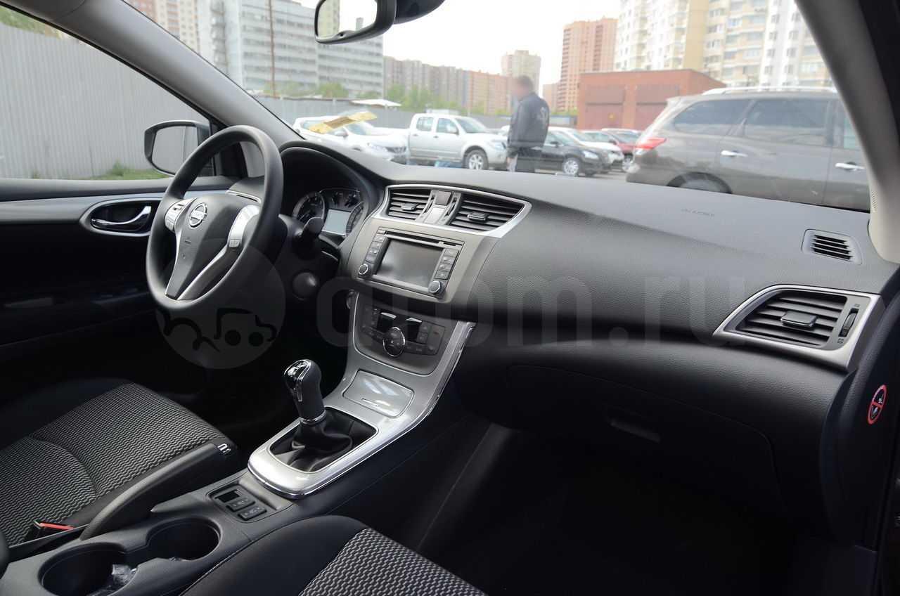 Nissan sentra 1.6 cvt tekna (08.2014 - 10.2017) - технические характеристики