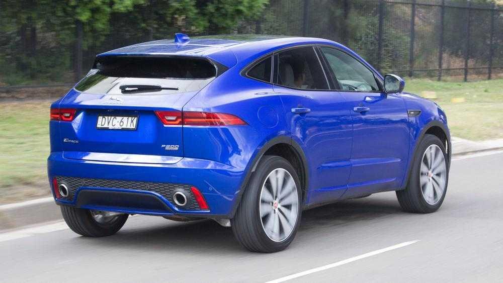 Jaguar e-pace 2021 рестайлинг: фото, цены и сроки начала продаж