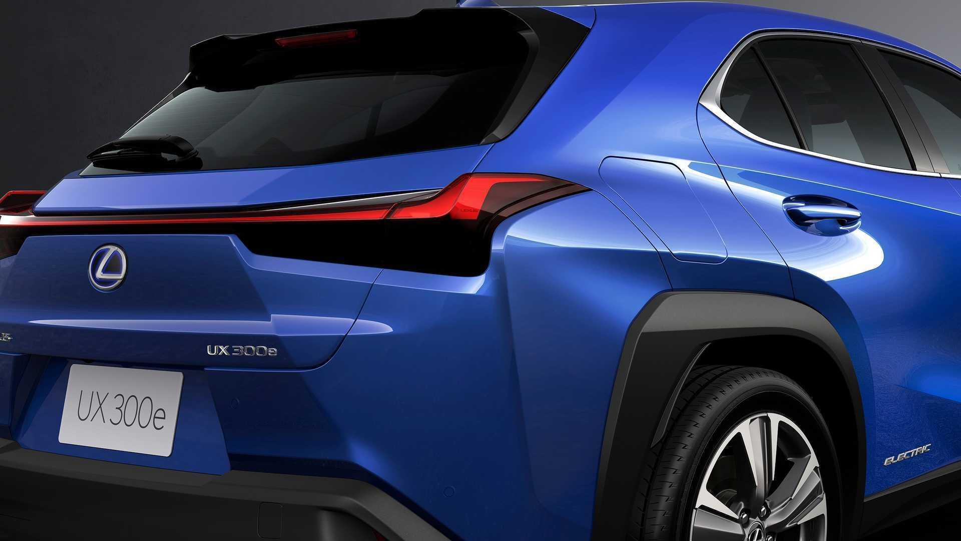 Японский Lexus готовится к выведению на Европейский рынок своего нового полностью электрического кроссовера UX300e