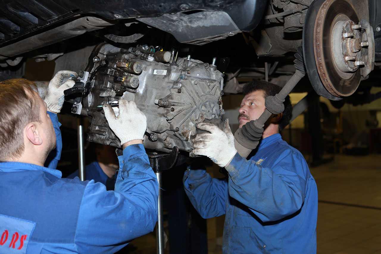 Техническое обслуживание трансмиссии автомобиля