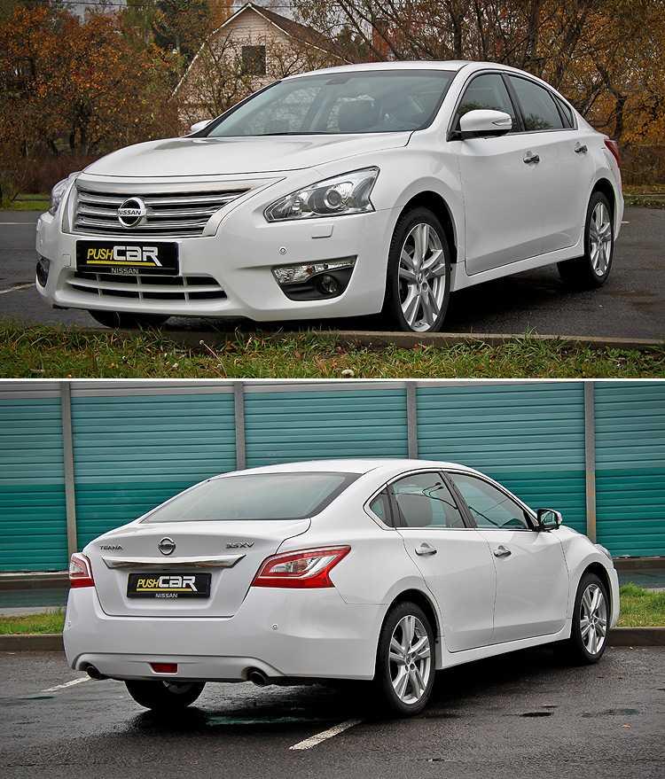 Nissan teana 2.5 cvt premium+ (09.2011 - 02.2014) - технические характеристики