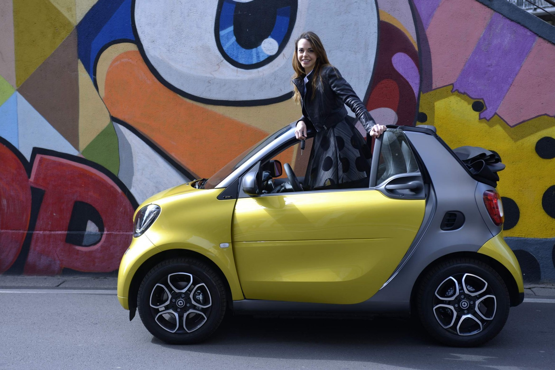 Smart fortwo cabrio: кабрикотлета – тест-драйв – autoutro.ru