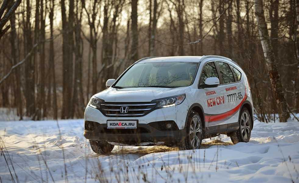 Тест-драйв Honda CR-V полное знакомство с автомобилем