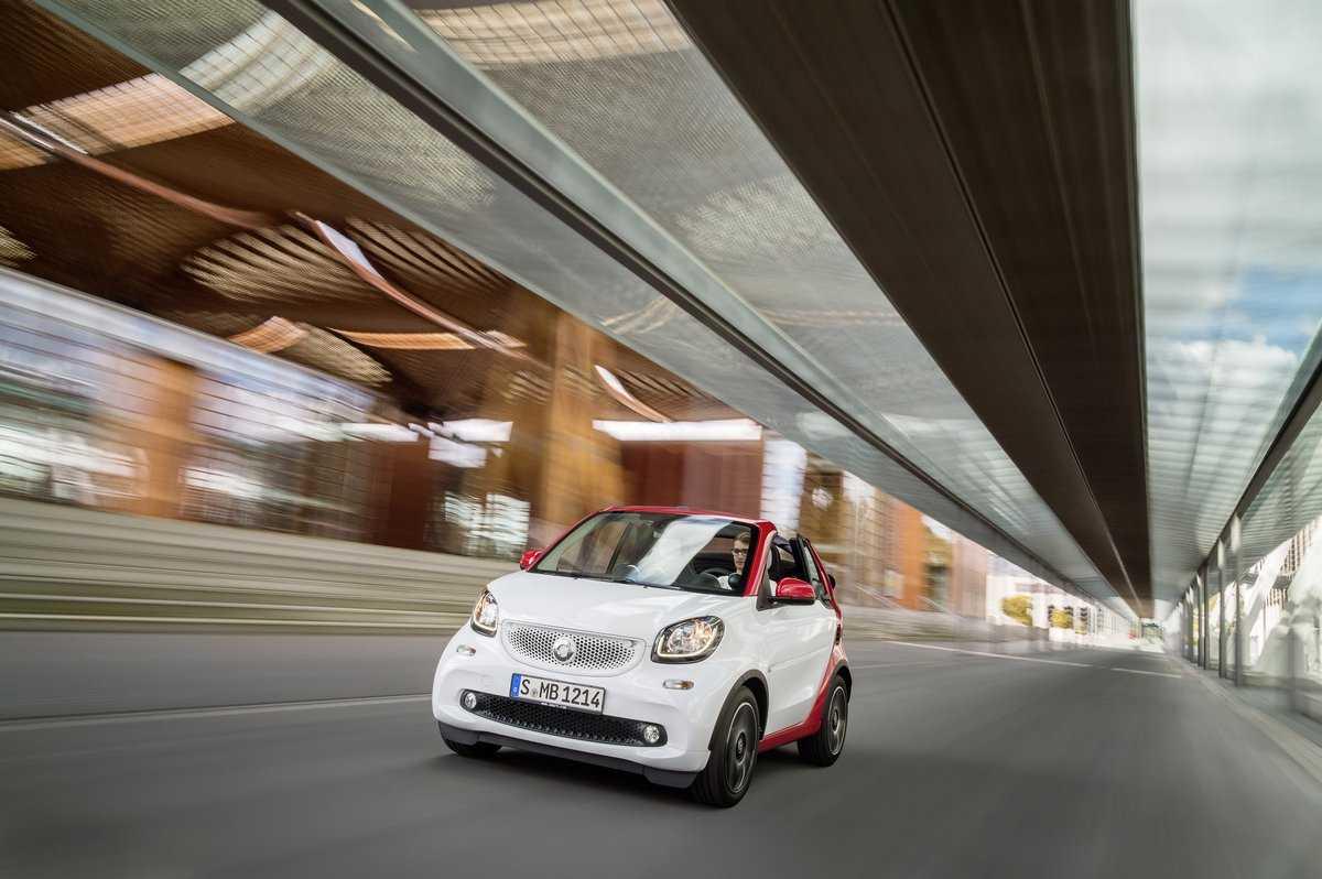 Smart продемонстрировал fortwo cabrio  - «автоновости»