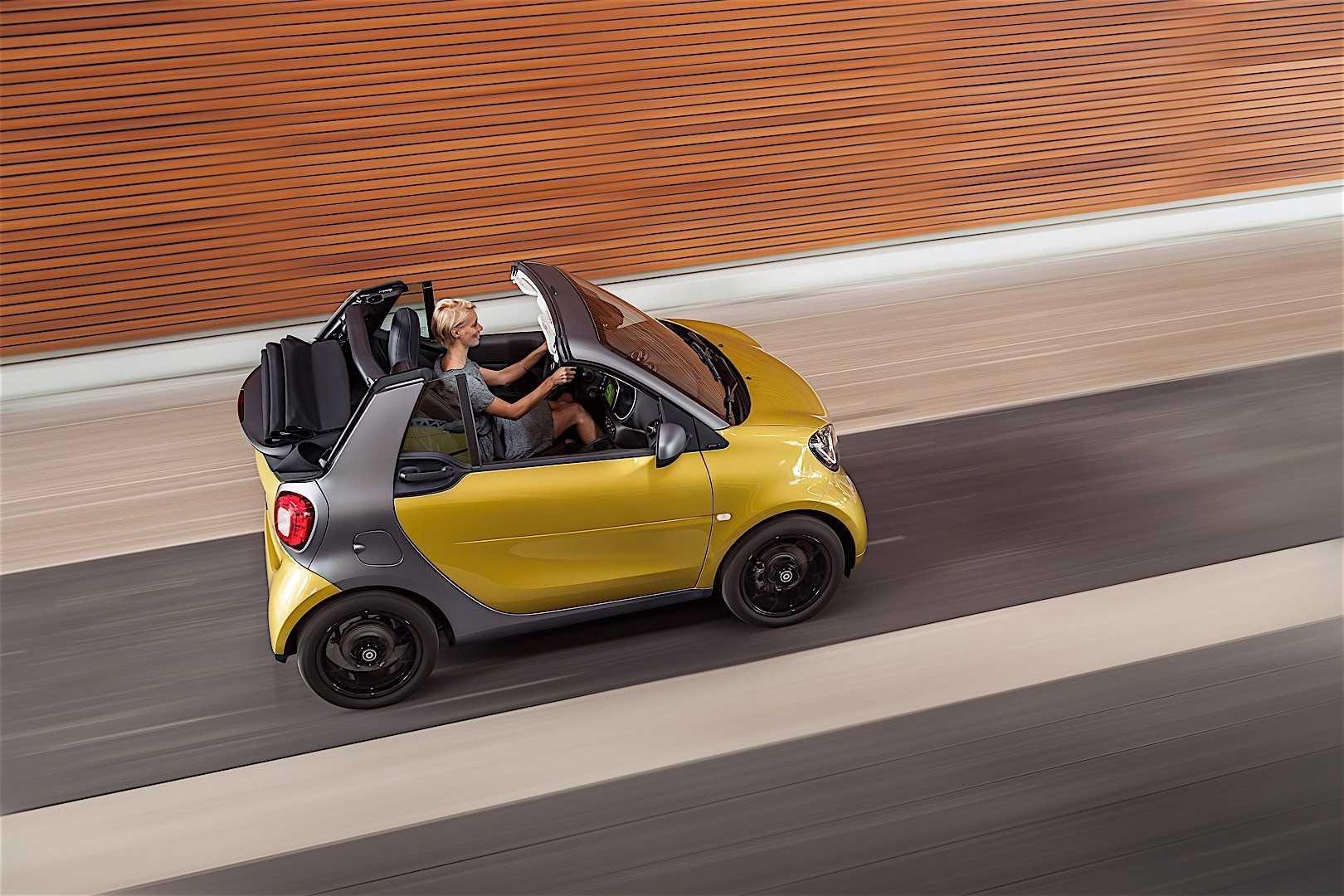 Smart привезет во франкфурт новый кабриолет fortwo