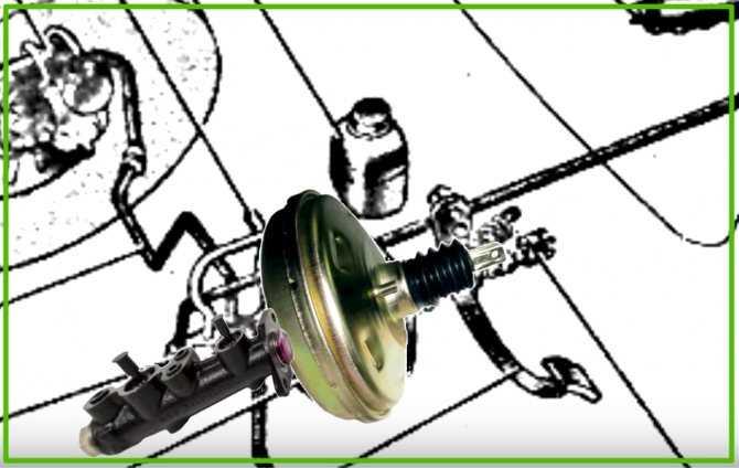 Устройство тормозной системы ваз 2107