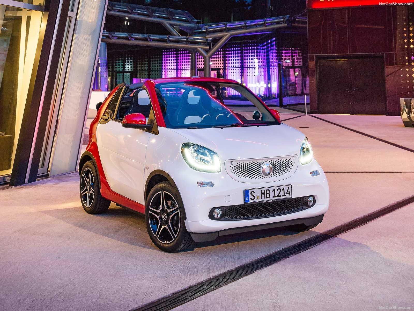 Встречайте новенький smart fortwo cabrio! - «автоновости»
