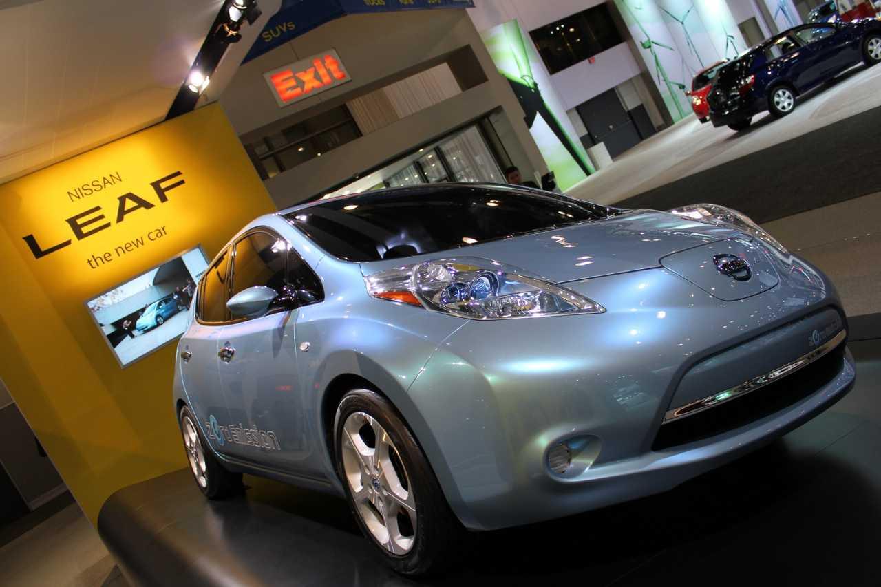 Nissan leaf (ниссан лиф 2010-2017) 1 поколение: первый электрический мировой бестселлер