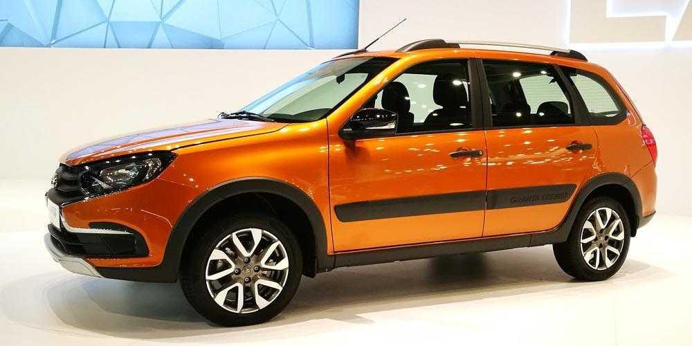 Lada granta cross поколения 1 рестайлинг, универсал в россии