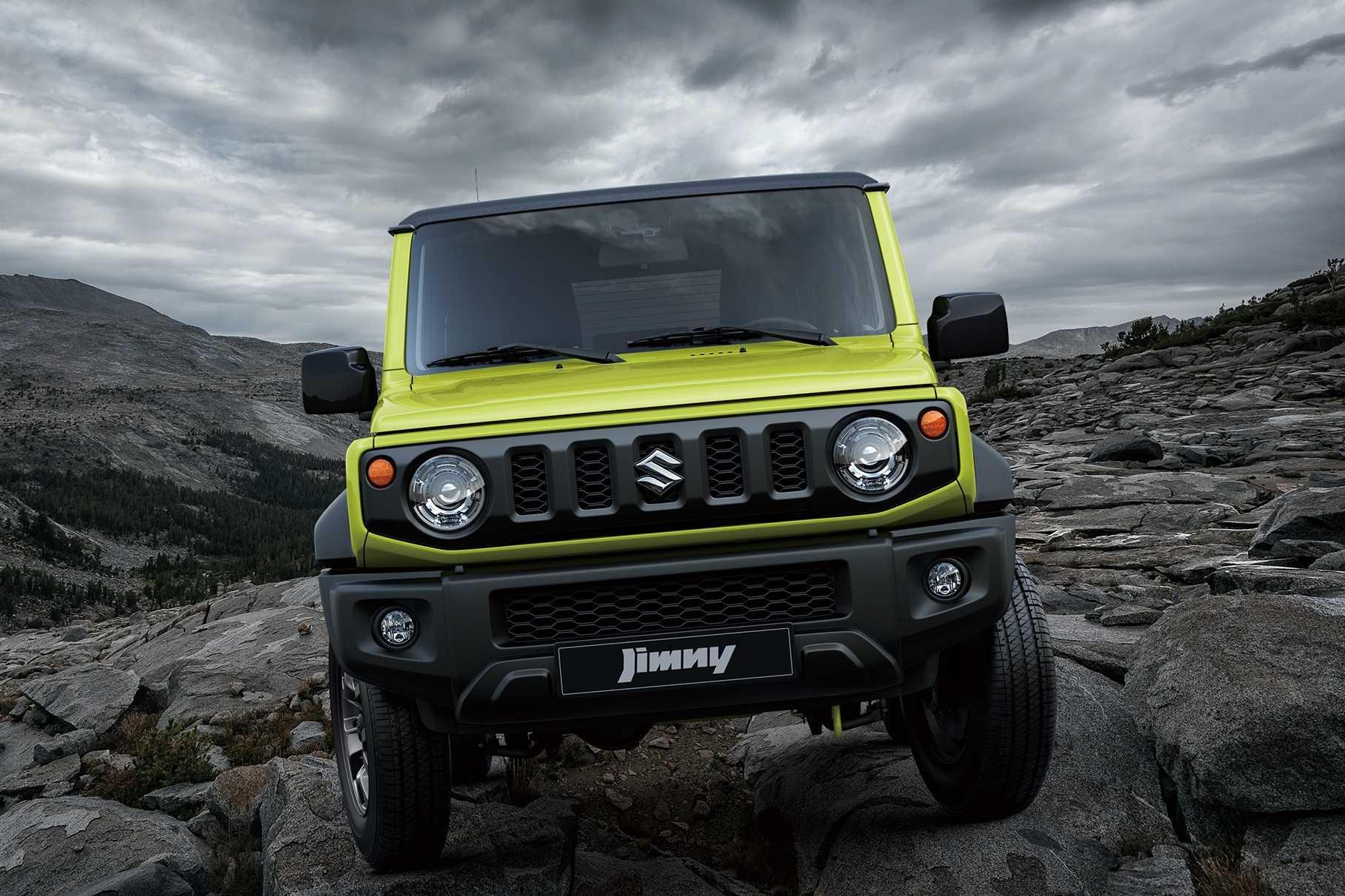 Suzuki jimny 2021 года — рамный полноприводный внедорожник, превосходящий уаз патриот