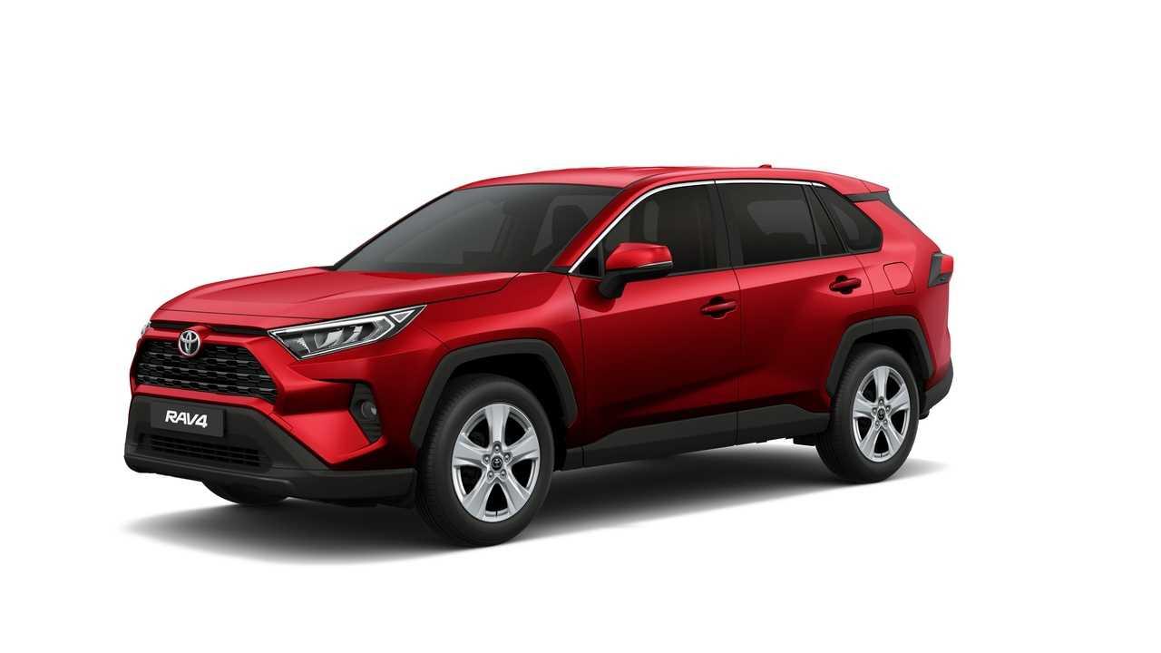 Toyota запустила производство нового rav4 для рф и раскрыла его цены