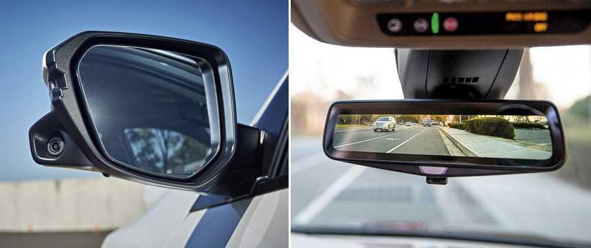 Вывод lexus на рынок камеры вместо зеркал. зачем? лучшая обзорность или снижение уровня шума