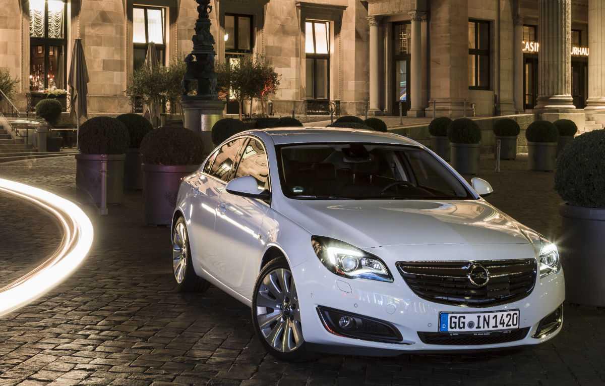 Opel insignia рестайлинг 2013, 2014, 2015, седан, 1 поколение технические характеристики и комплектации