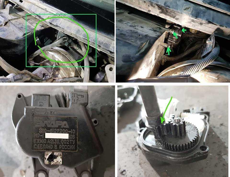 Разбираем и ремонтируем моторедуктор заслонки печки ваз-2110, 2111 и 2112