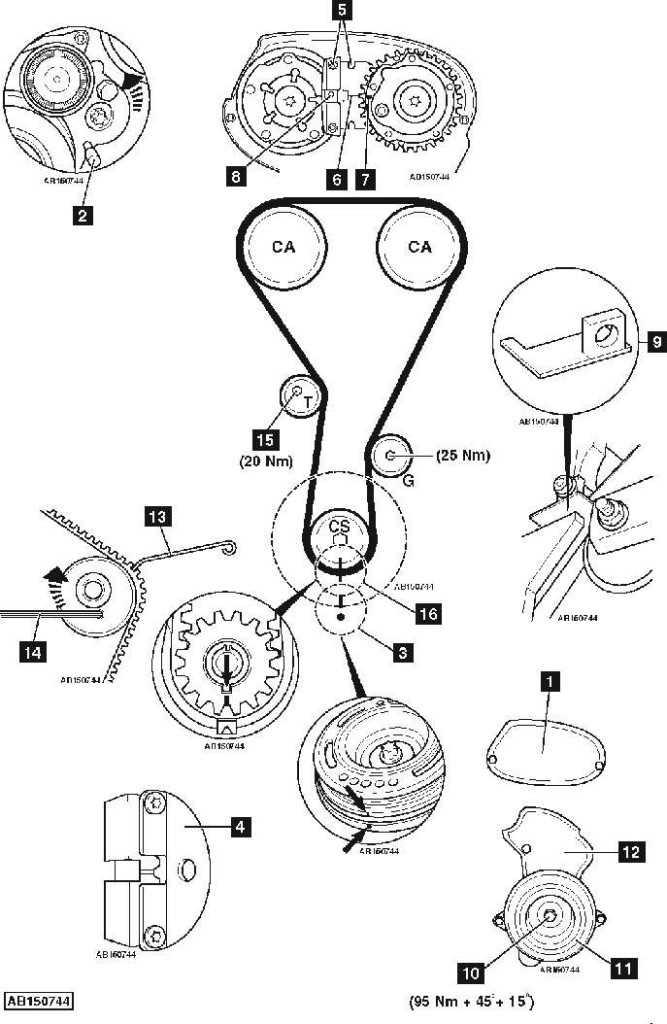 Замена грм chevrolet cruze 1.6