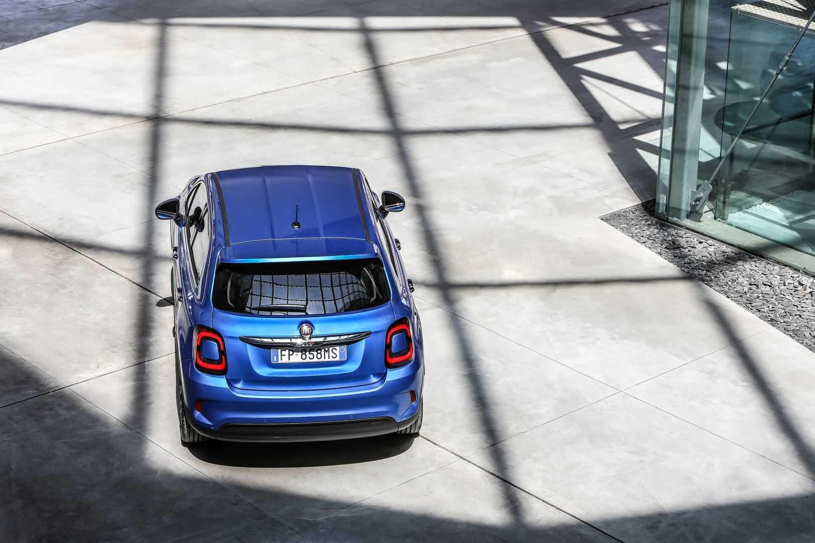 Fiat 500x 2019 – рестайлинг мини-кроссовера фиат