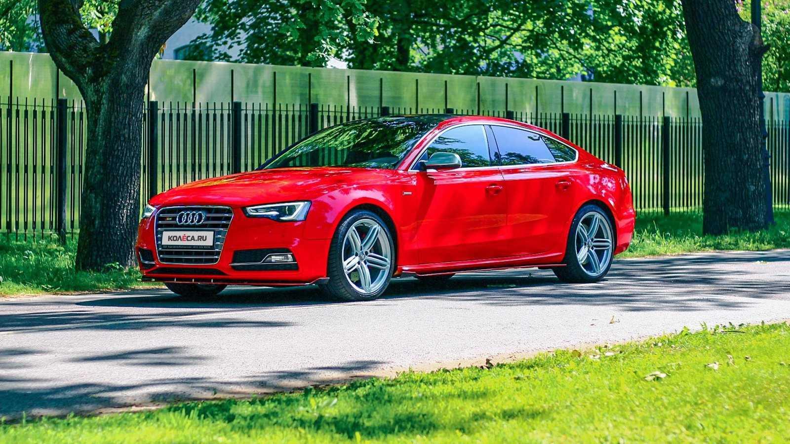 Audi a5 рестайлинг 2011, лифтбек, 1 поколение, 8t (07.2011 - 11.2016) - технические характеристики и комплектации