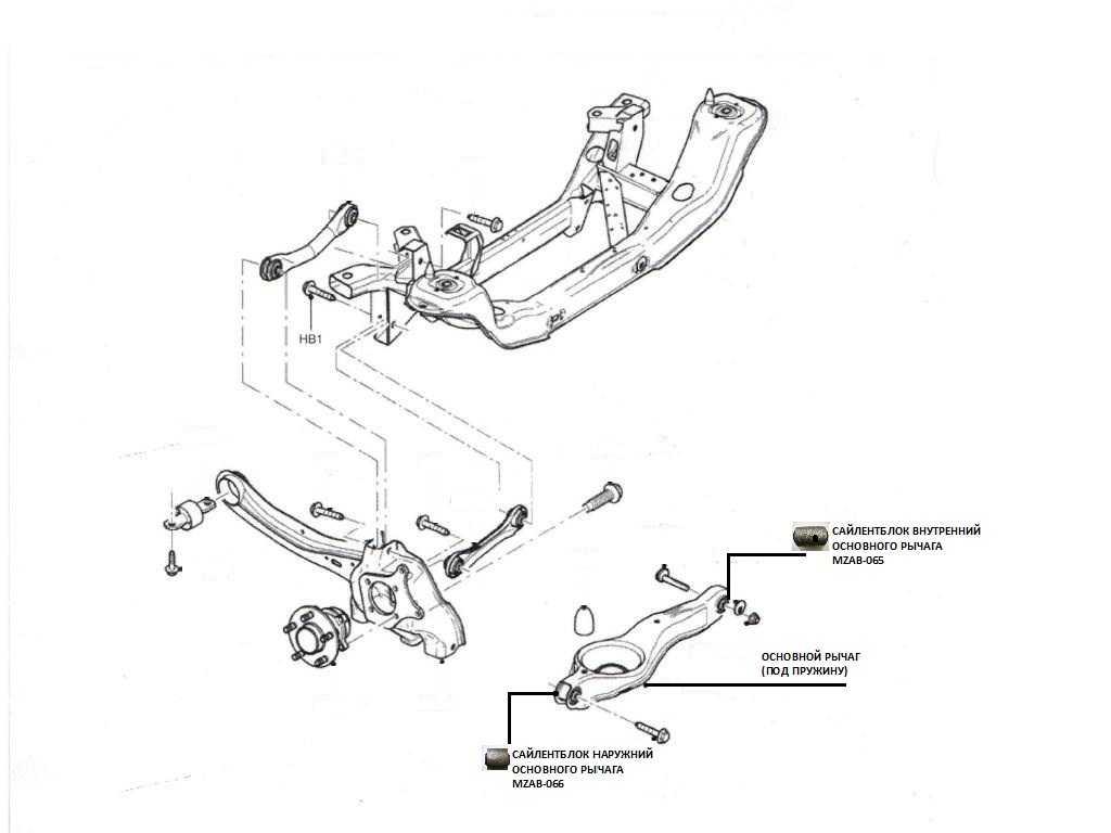 Задняя подвеска форд фокус 2 рестайлинг