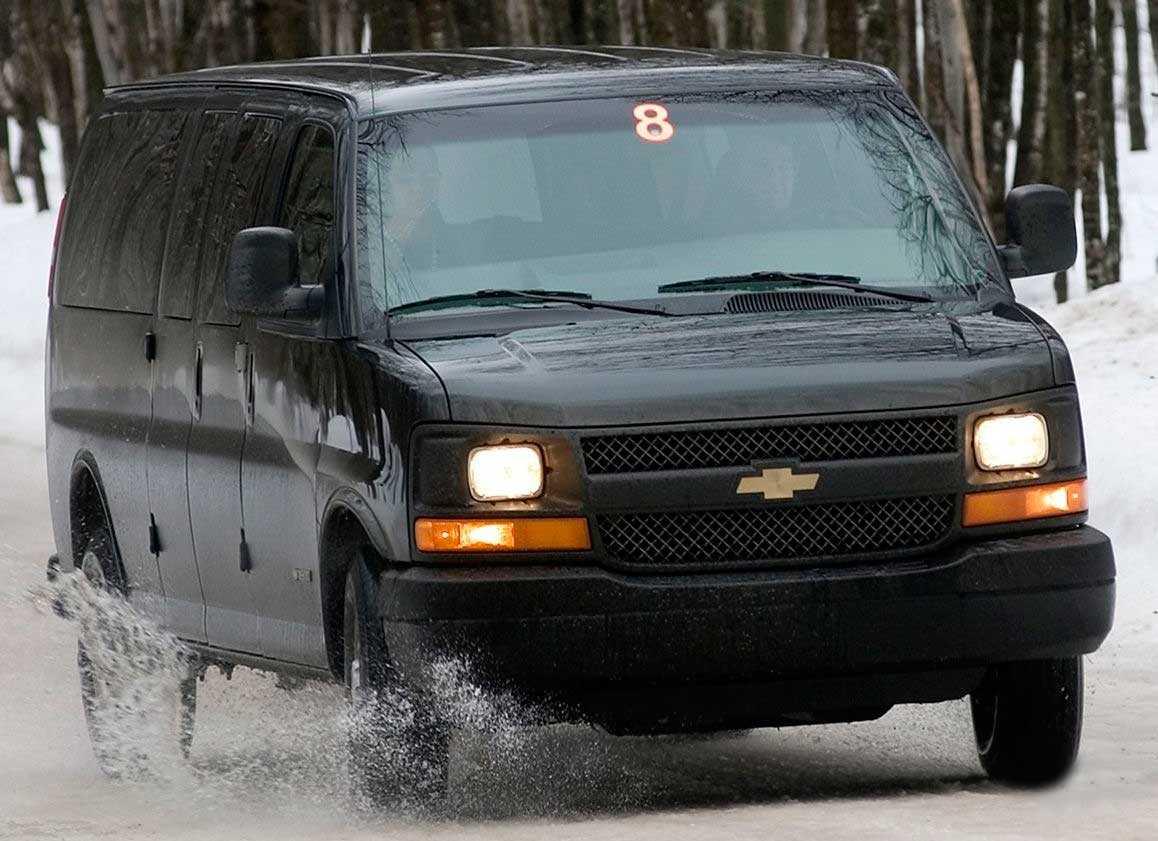 Микроавтобус chevrolet express, полный обзор, тест драйв