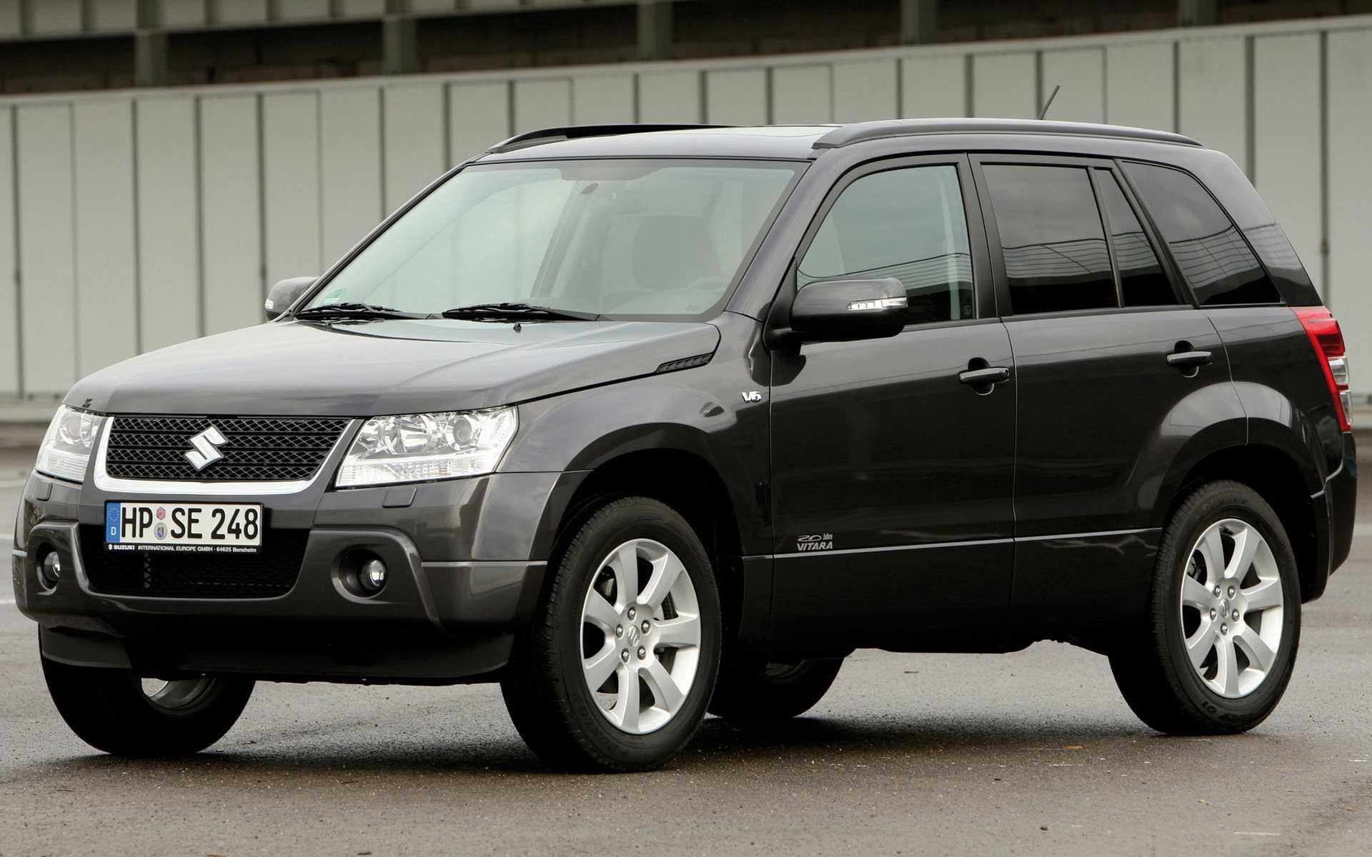 Технические характеристики suzuki grand vitara - двигатели, расход топлива, размеры кузова