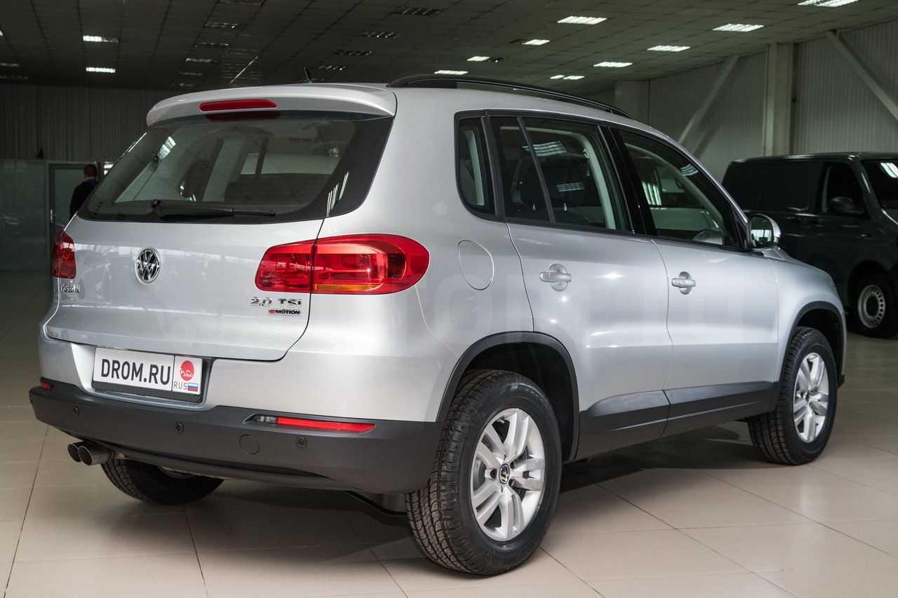 Volkswagen tiguan 2016 приехал во франкфурт в компании гибрида tiguan gte concept