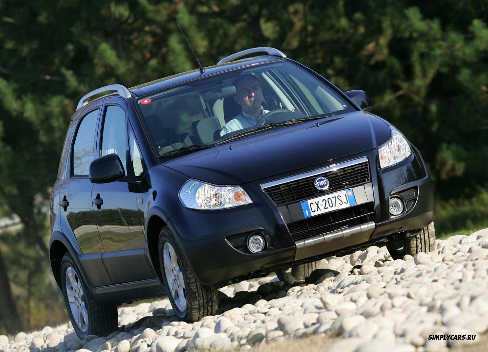 Fiat sedici: обзор, тест-драйв, отзыв, цена.