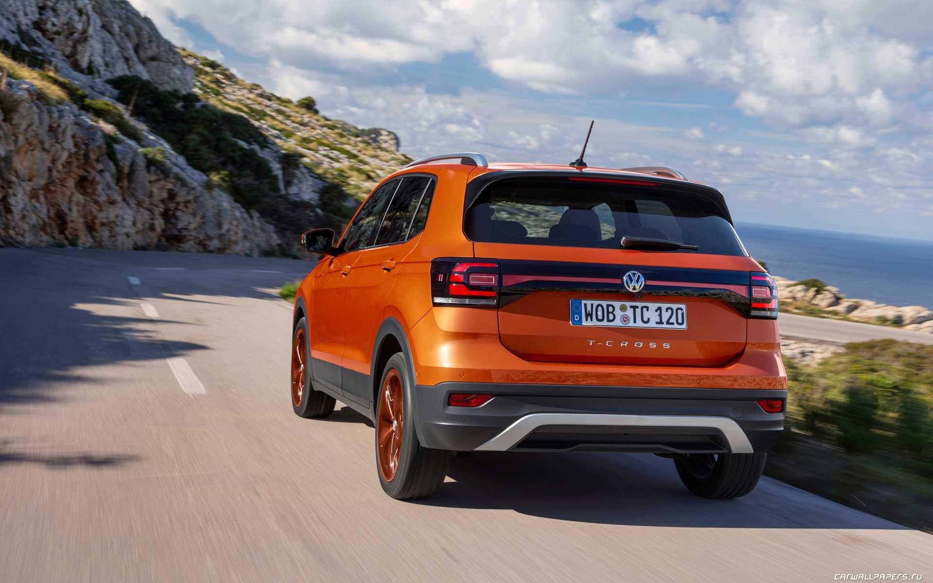 Volkswagen t-cross 2020 скоро в россии! цены и комплектации