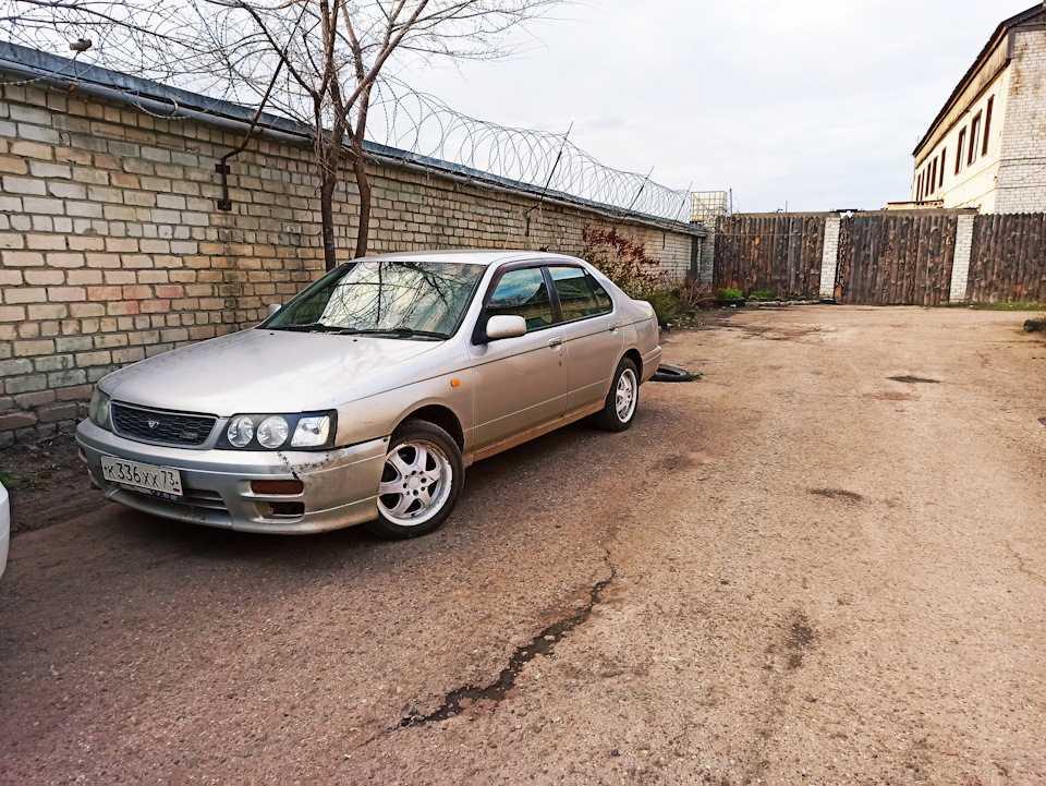 Ниссан блюбёрд 1996 г., 1.8 литра, введение, бензин, 4вд, акпп, комплектация attesa, расход 12.0