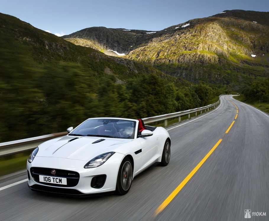 Jaguar F-Type первое знакомство с автомобилем фото видео двигатель салон подвеска тест