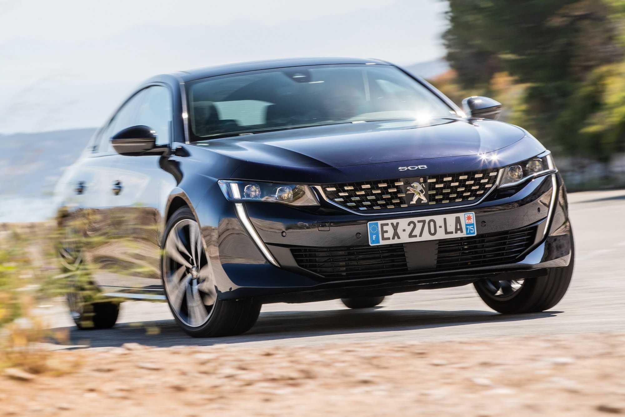 Peugeot 508 2019: стильный и качественный седан от европейского бренда