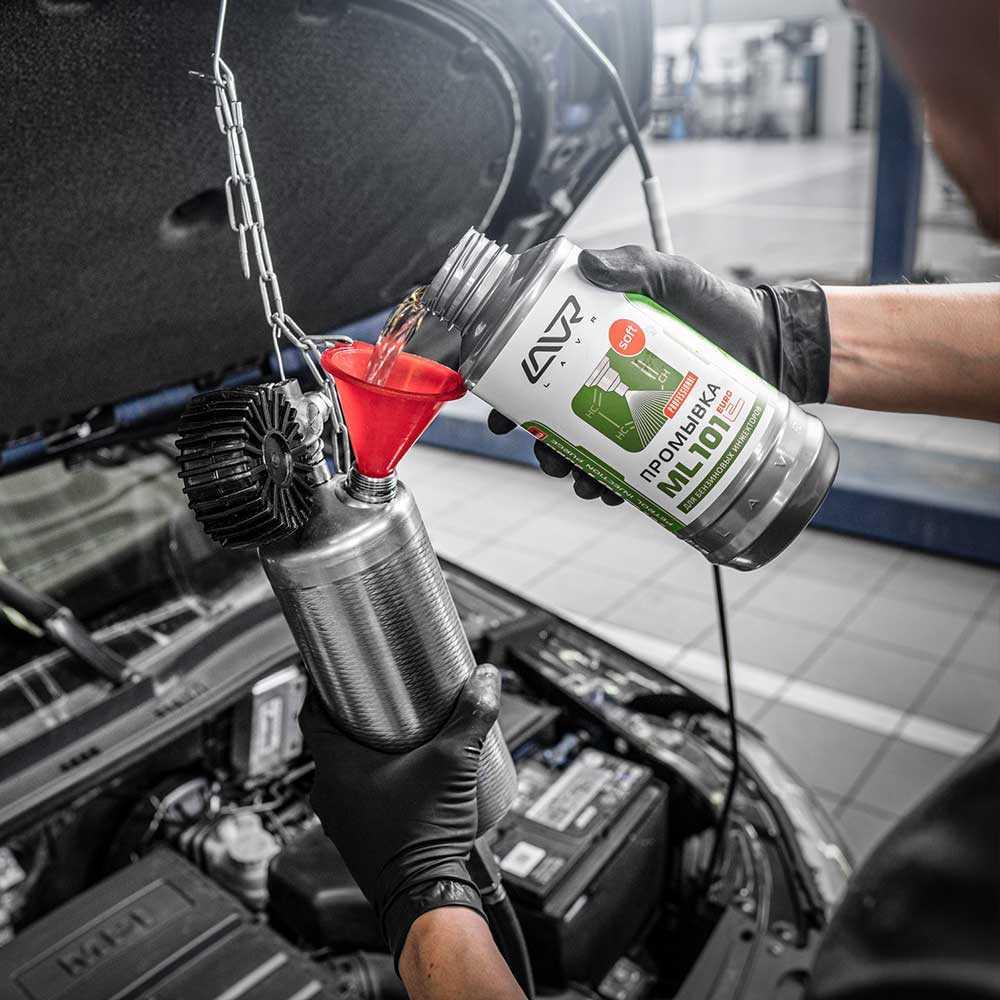 Как промыть топливную систему бензинового двигателя