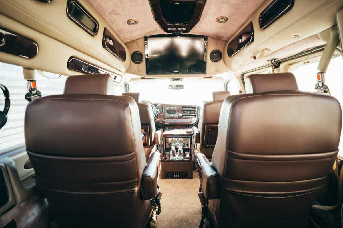 Полный обзор микроавтобуса шевроле экспресс технические характеристики двигатель дизайн салон