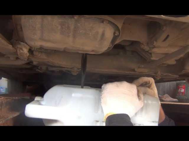 Toyota auris с 2013 года, замена масла в мкпп инструкция онлайн