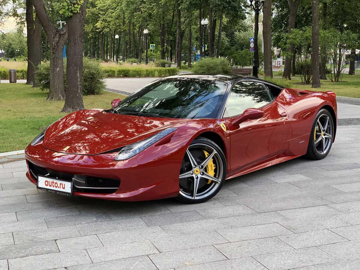 Ferrari 458 italia цена, технические характеристики, фото, видео тест-драйв