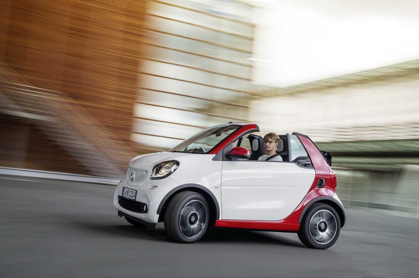 Smart привезет во франкфурт новый кабриолет fortwo - «автоновости»