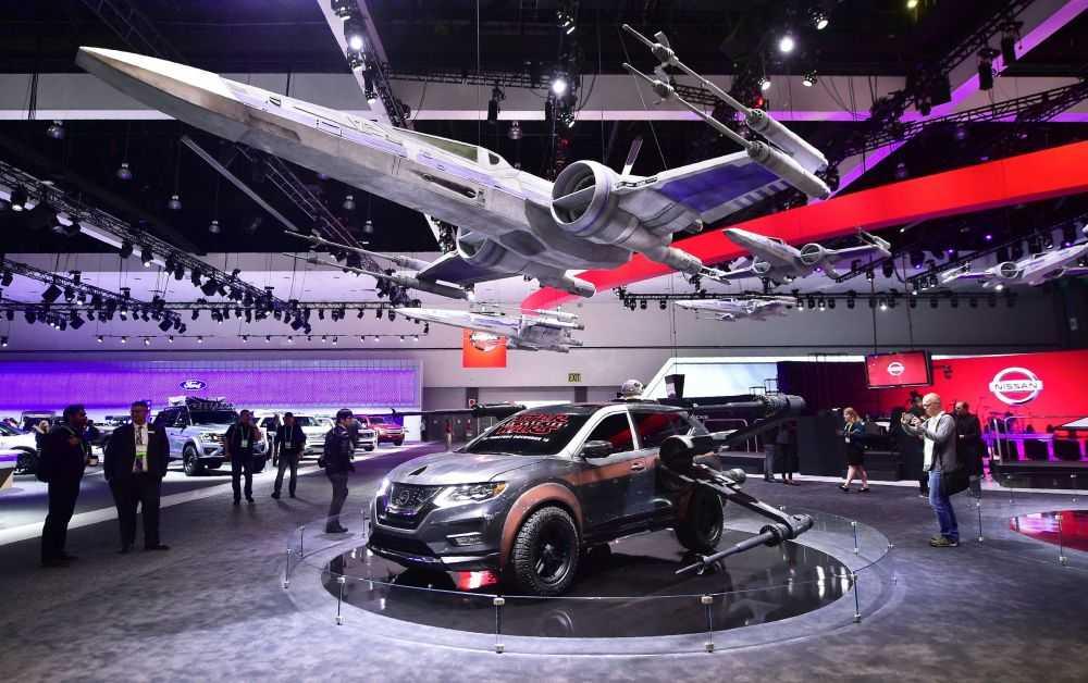 Kia представит в лос-анджелесе новый компактный кроссовер