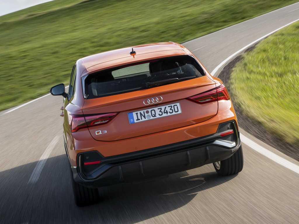 Обзор автомобиля audi q3 2020 модельного года в кузове sportback