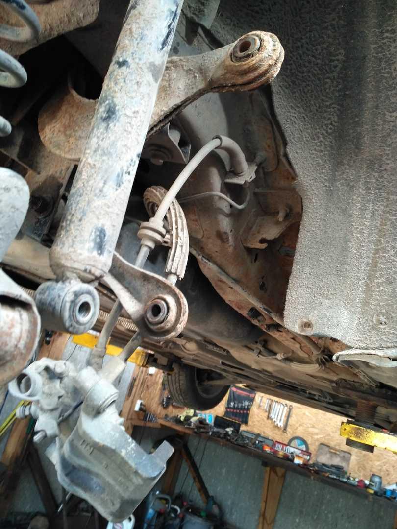 Ремонт задней подвески ford focus 2