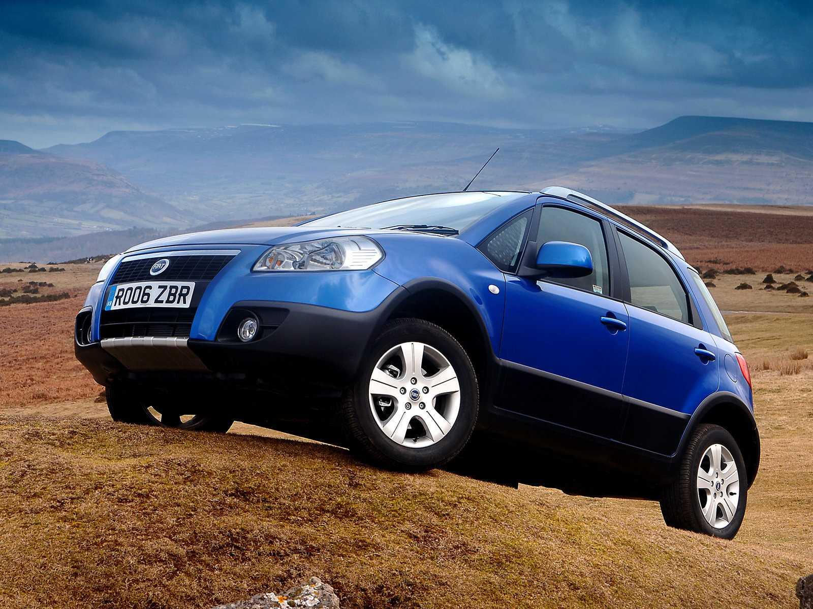 Fiat Sedici обзор автомобиля технические характеристики видео